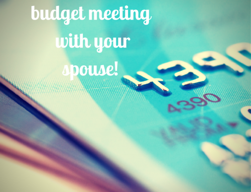 How to Have a Productive Budget Meeting with Your Spouse