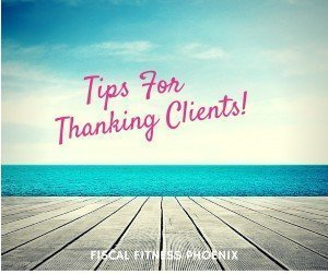 Tips for Thanking Clients