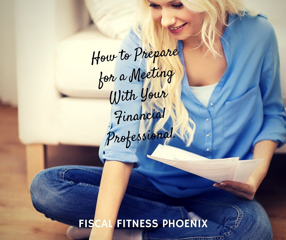 How to Prepare for a Meeting with Your Financial Professional (2)