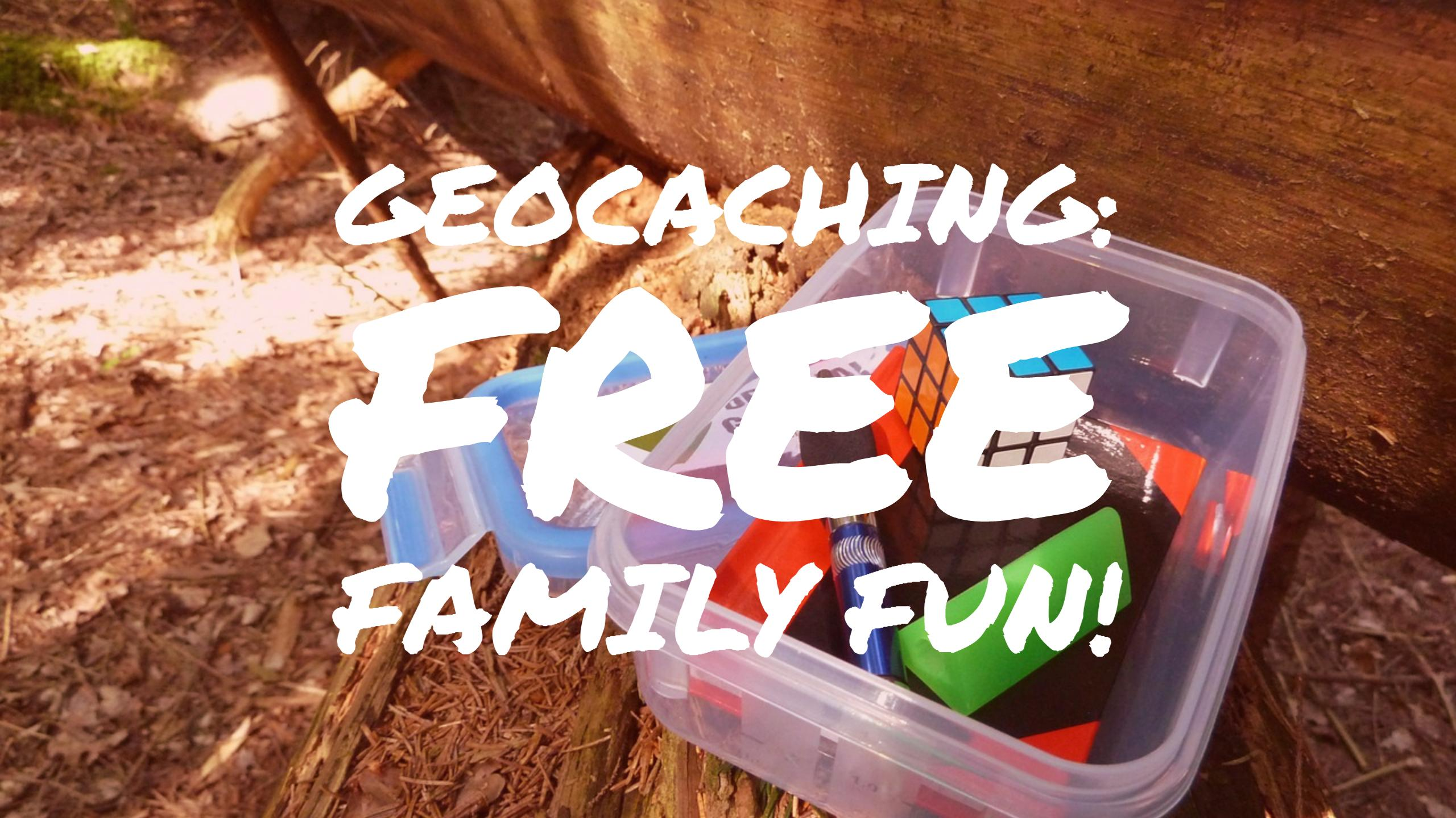 Free Stuff Friday Geocaching is free family fun from Fiscal Fitness PHoenix