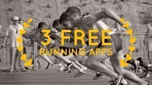 three free running apps for iphone, ios and android