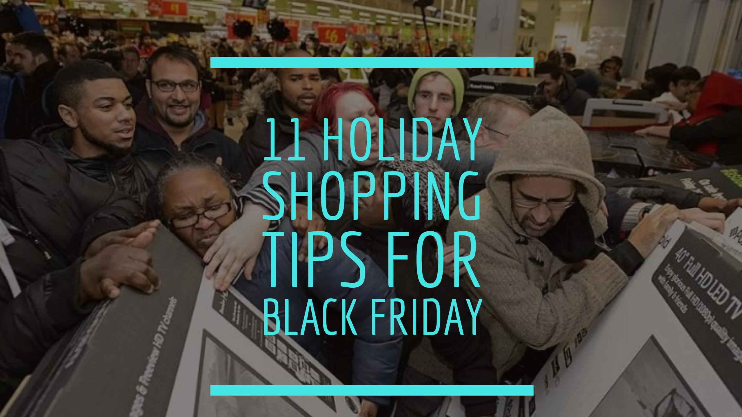 holiday black friday shopping tips