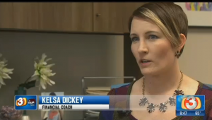 Kelsa Dickey Phoenix Financial Coach from Fiscal Fitness PHX stay out of debt this holiday season