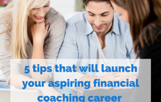 financial coaching career