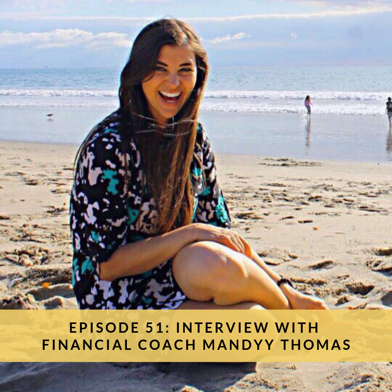 The Saver and the Spender Podcast, Episode 51: Interview with Financial Coach Mandyy Thomas
