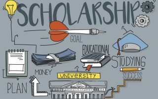 get scholarships and learn how to apply to college
