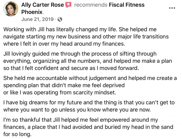 financial coaching review of fiscal fitness