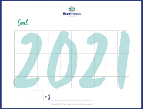 The Fiscal Fitness Podcast Episode 114: Free Download – Track Your Financial Goals in 2021